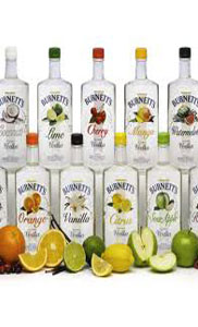 Burnett's Flavors 750ml